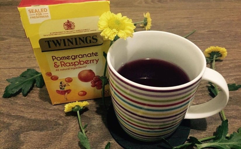 Twinings Pomegranate & Raspberry Fruit Tea☕️