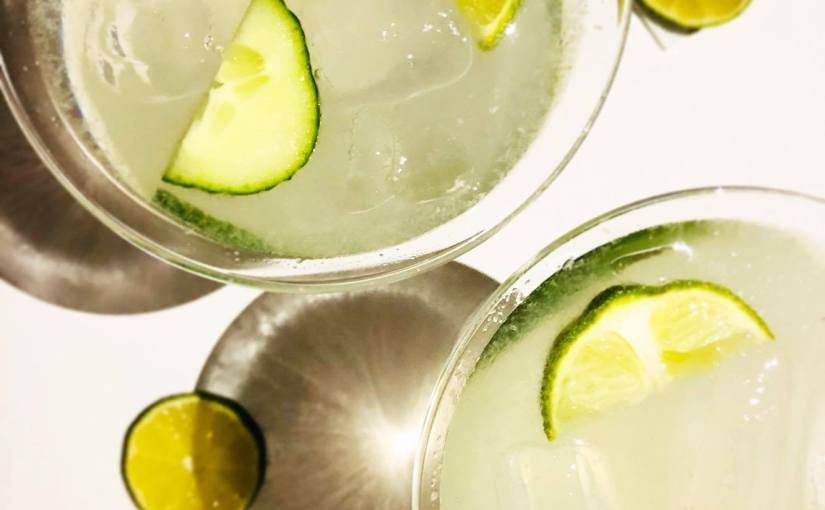 Cucumber Cooler Cocktail🍸
