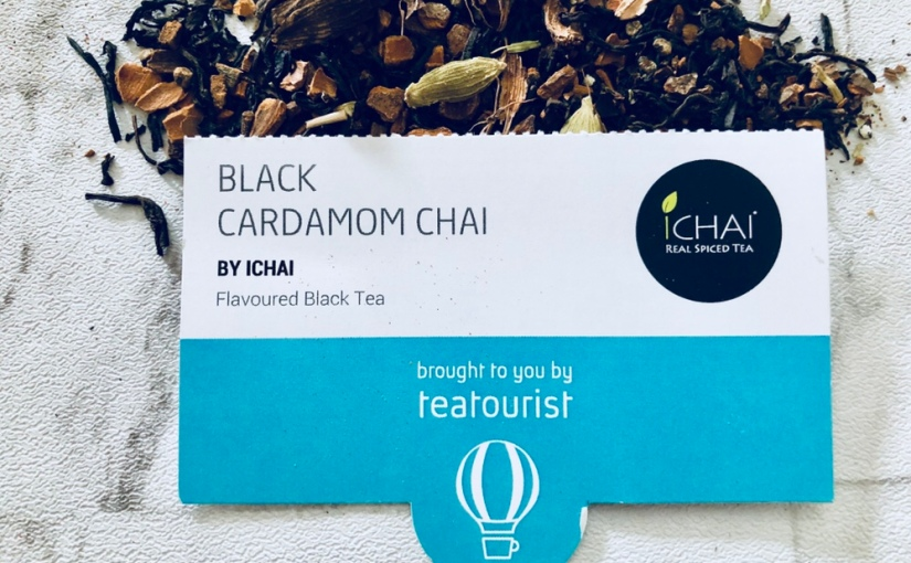 Black Cardamom Chai by ICHAI Review☕️